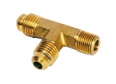 Branch tee flare connector