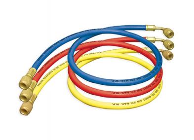"Charging Hoses (R12, R22 & R502) 1/4"" SAE x 1/4"" SAE 45°"